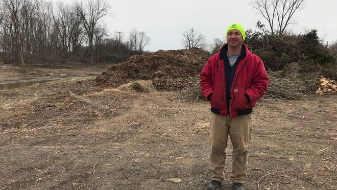 Andrew Nycz, owner of Mulch King in Temperance, is in the midst of a dispute with Bedford Township over reported ordinance violations.
