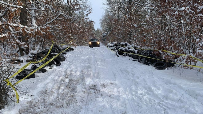 Michigan Department of Natural Resources conservation officers are seeking help from the public to catch the person who dumped more than 500 tires in and around the Allegan State Game Area.