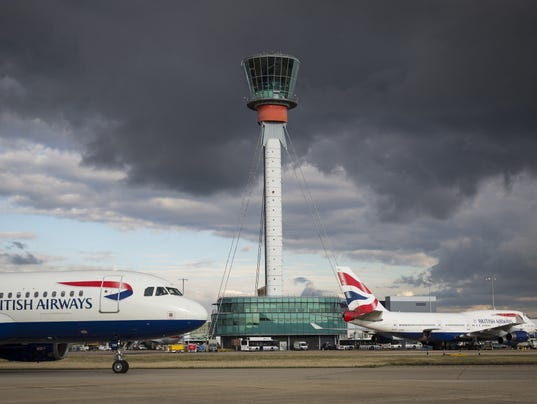 Britain's Skies Run Out of Room for Planes