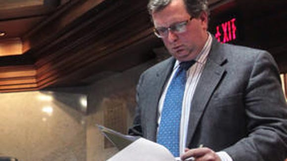 Sen. Brandt Hershman says he deserved the Senate's mocking catcalls.