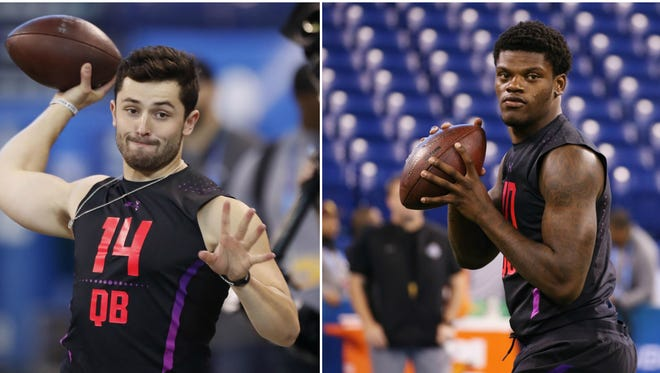 Who will the Arizona Cardinals take in the first round of the 2018 NFL draft? They have options according to the latest NFL mock draft projections.