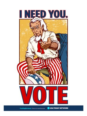 Voting Because poster