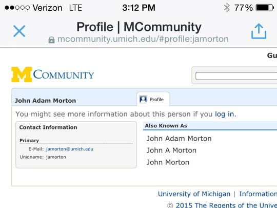 3 assistant coaches show up in Michigan directory