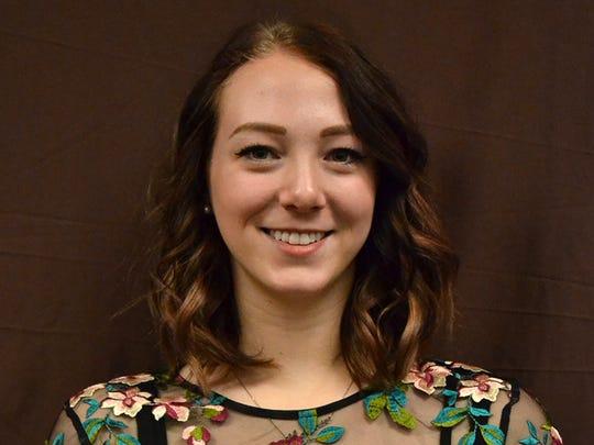 Katelyn Gross, Cedar, Family and Consumer Science.