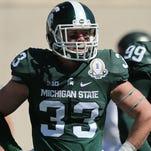 Michigan State linebacker Jon Reschke