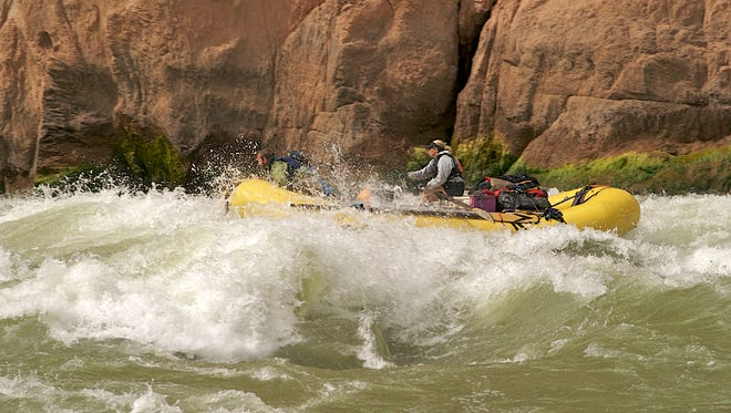 For an exciting time, try rafting in Grand Canyon.