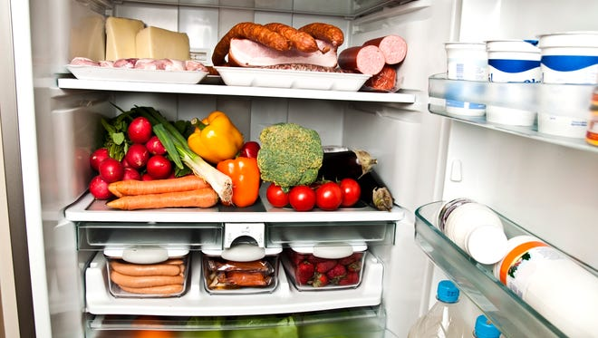 It's time to empty the holiday food from your refrigerator and get back to eating healthy.