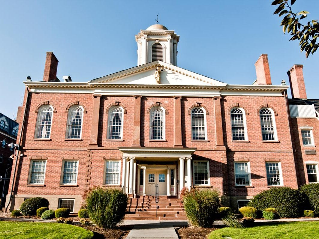 The Morris County courthouse, Morristown, NJ