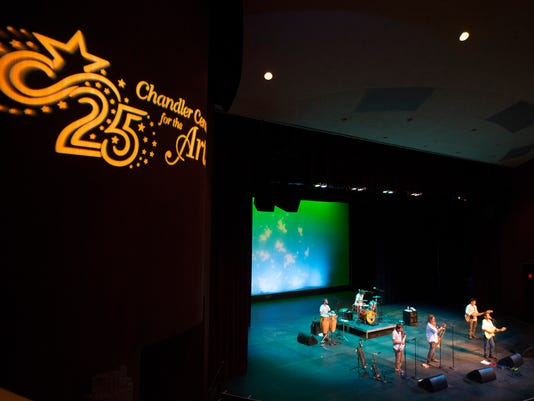 Performance at Chandler Center for Arts anniversary