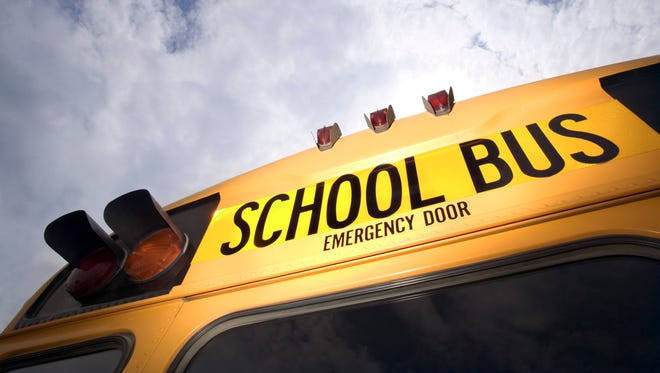 Flint's police chief says an officer will begin riding a public transit bus for charter school students after a bullet struck it.