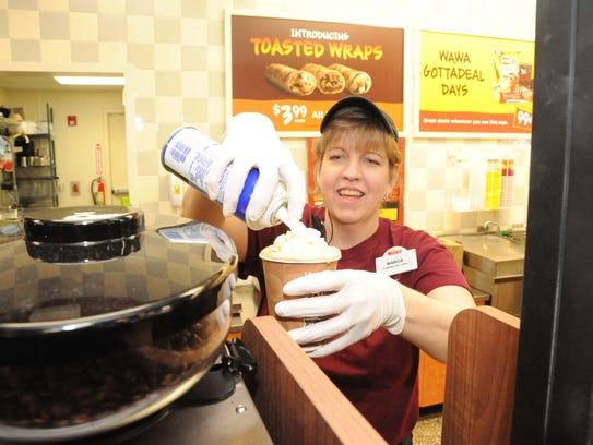 Marcia Smith, of Bridgeton, an employee of the Wawa