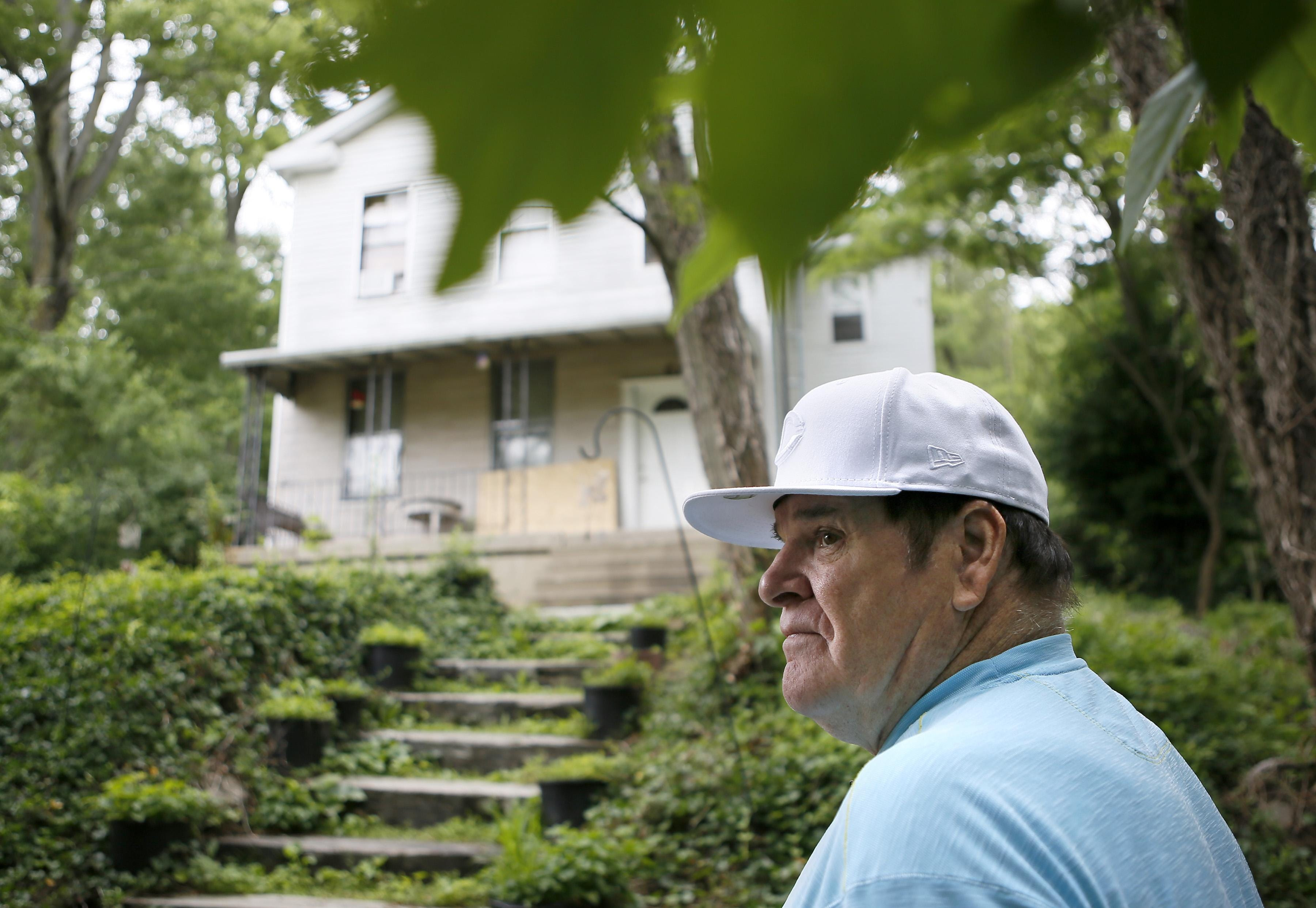 pete rose the boy from braddock street rh cincinnati com Pete Rose Parents pete rose home office email