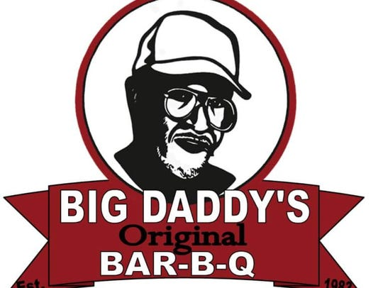 The logo of Big Daddy's Bar-B-Q Sauce is a tribute