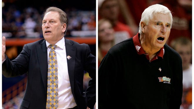 Bob Knight is now the only Big Ten coach with more wins than Tom Izzo.