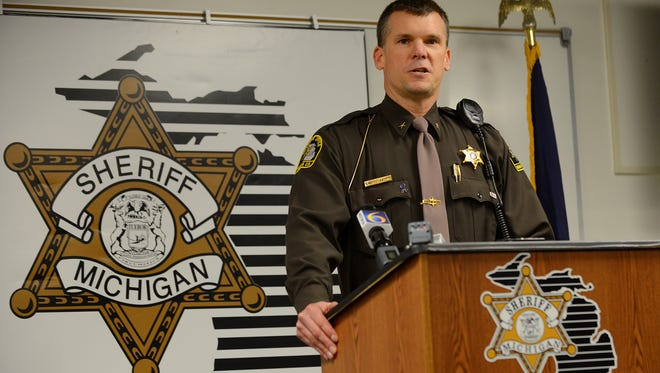 Ingham County Sheriff Scott Wriggelsworth announced his 2020 run for re-election using the Ingham County Non-Public Alert System.