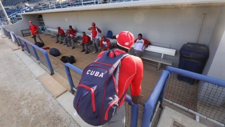 Cuban national baseball team to face Jersey Jackals in four-game series