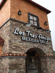 Los Tres Amigos, shown here in Livonia, is coming to