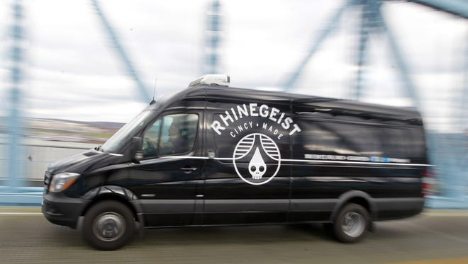 Cincinnati brewer Bob Bonder, who is an owner of Rhinegeist Brewery, started Riverghost Distributing company in Erlanger with the purpose of giving craft brews — including his own — greater access to Kentucky markets. But he says the proposed bill likely would put his distributorship out of business.
