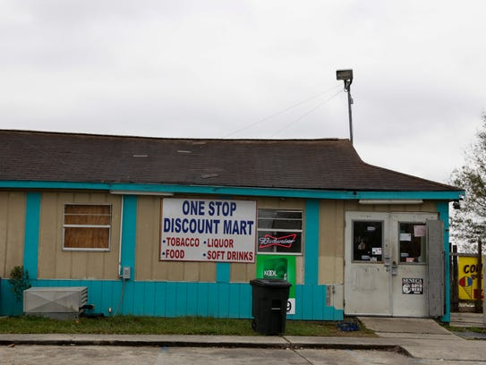 The One Stop Discount Mart in the Marigny Circle development