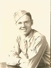 Jim Kinkema served in the Army signal corps during World War II.