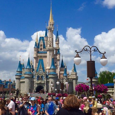 Walt Disney World's Magic Kingdom is the world's...