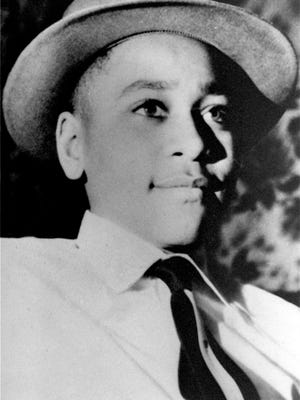 This undated file photo shows Emmett Till, a black 14-year-old Chicago boy, who was brutally murdered near Money, Mississippi, Aug. 31, 1955, after whistling at a white woman.