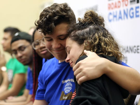 Alfonson Calderon, a survivor of the school shooting