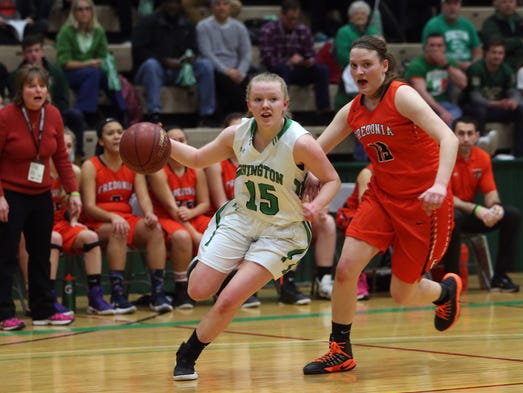 Irvington defeated Fredonia in the state semifinal