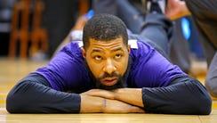 Phoenix Suns forward Markieff Morris before a game