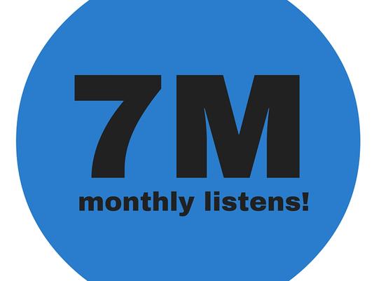 7 million podcasts
