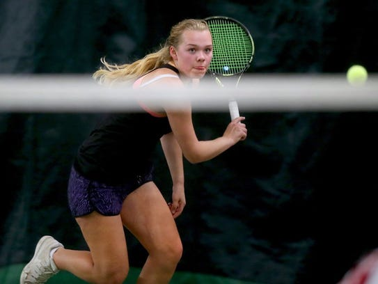 North Kitsap tennis player Danya Wallis is a three-time girls singles champion in Class 2A.