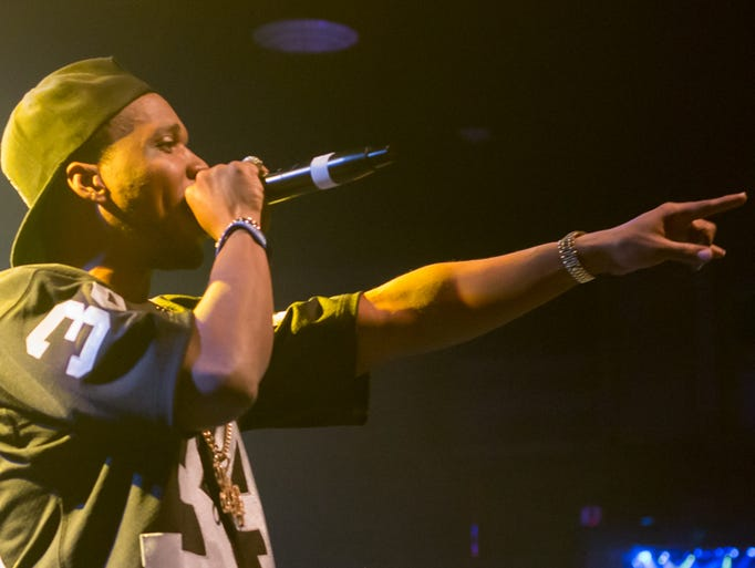 """Curren$y headlines at Vinyl Music Hall during his """"Pilot"""