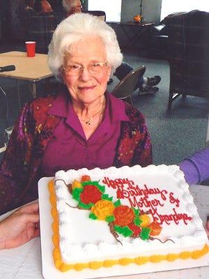 Vera Cross 95th Birthday