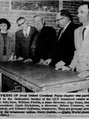 Dedication of the CP Clinic in Opelousas on Dec. 1,