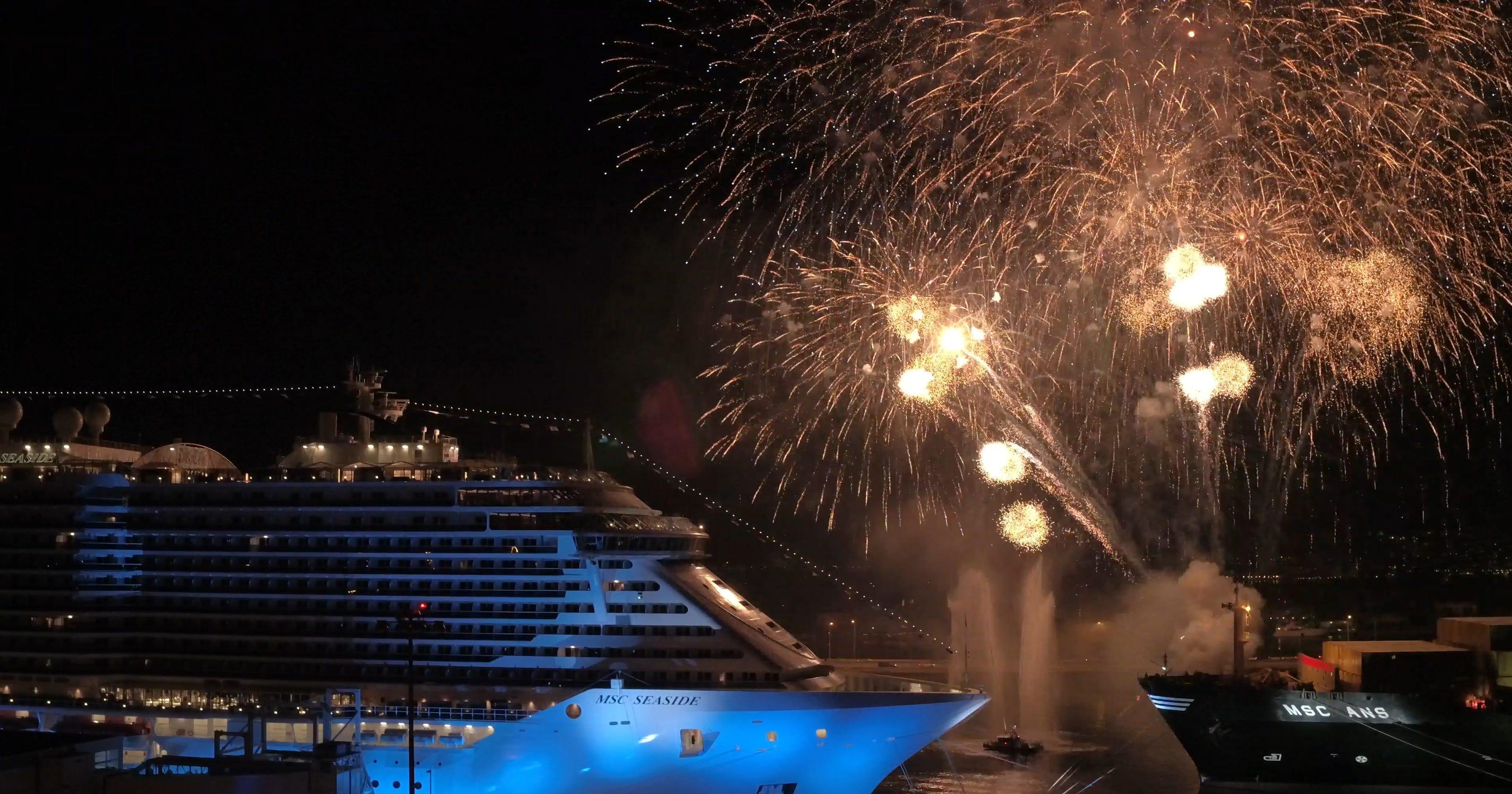 MSC Seaside: New cruise ship christened in Miami