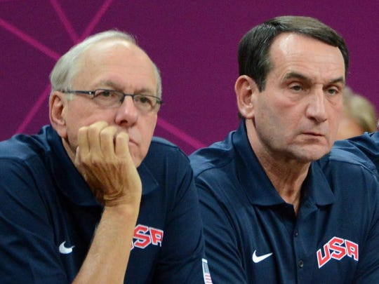 Jim Boeheim says the reason Mike Krzyzewski is so successful is because he's flexible.