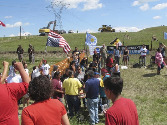 Pipeline Protest Lawsuit