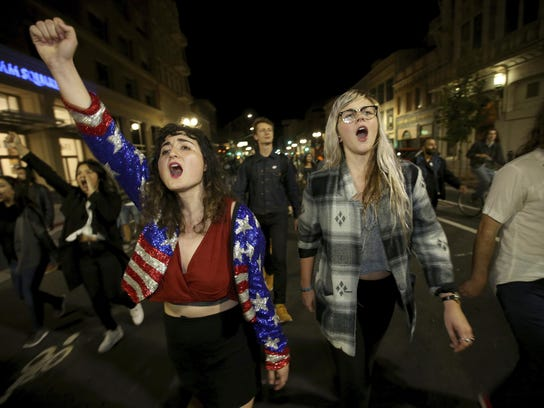 2016 Election California Protests