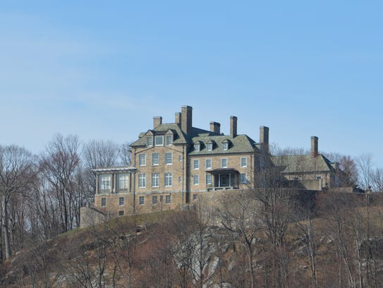 Donald Trump's Seven Springs mansion looms over Byram