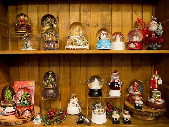 Olde World Christmas Shoppe, located in Biltmore Village,