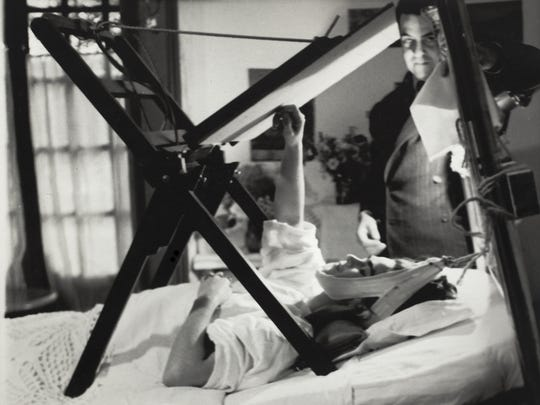 Kahlo's mother built a special easel so she could paint
