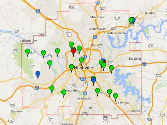 595 NES Power Outages Reported In Nashville Area
