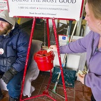 Salvation Army is seeking volunteers for their annual Christmas kettle campaign.
