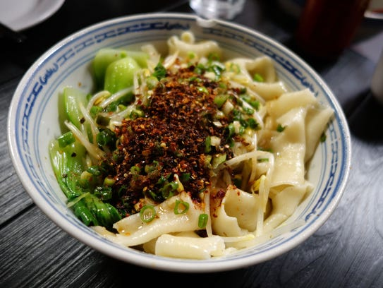 Shaanxi-style noodles at Shaanxi Garden