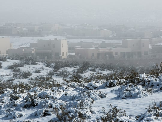 Many in Las Cruces woke up Monday to a dense fog.