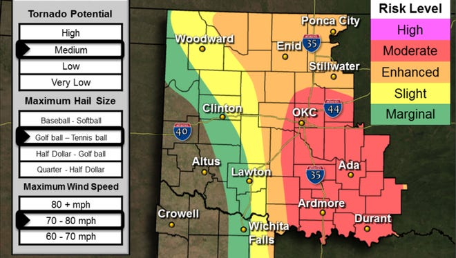 Severe Storms Expected Today