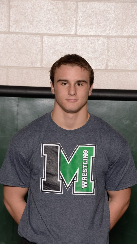 Mason wrestler Jordan Collins committed to the University of Indianapolis.