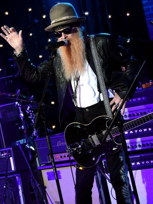 ZZ Top featuring Billy Gibbons performs at the Riverside Theater Sept. 13.