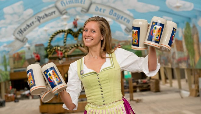 Oktoberfest celebrations kick off on Friday.