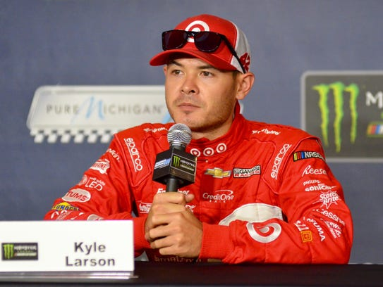 Monster Energy NASCAR Cup Series driver Kyle Larson